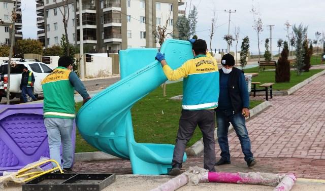 Mehmetçik'te 9 Bin Metrekarelik Park Hizmete Giriyor