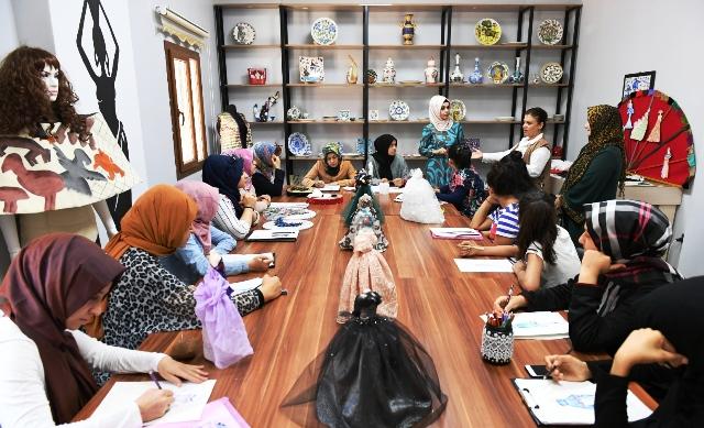 Moda tasarım kursuna yoğun ilgi-GÖRÜNTÜLÜ-