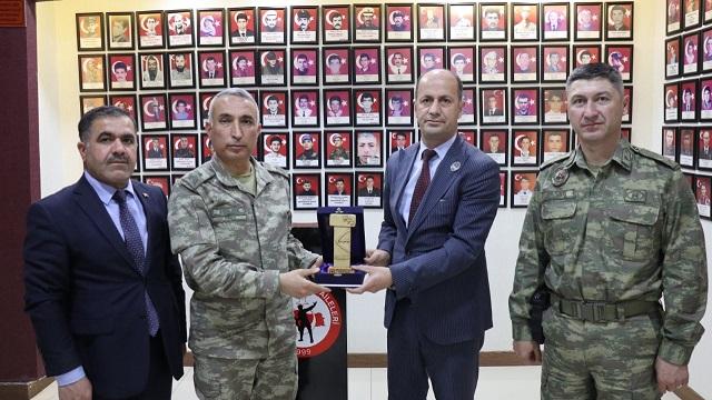Oktay Paşa'dan Başkan Yavuz'a Ziyaret