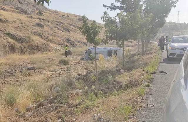 OSB Bölgesinde kaza 3 yaralı