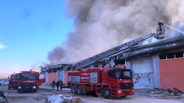 Osmanbey Kampüsünde yangın