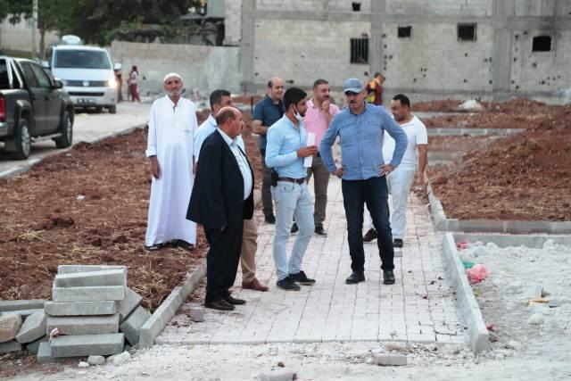 Osmanlı Mahallesine yeni bir park