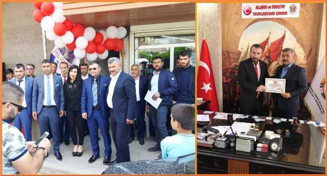 Osmanlı Turan Ocakları Şanlıurfa İl Başkanlığı Kuruldu