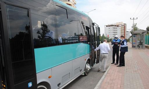 Özel Halk Otobüslerine Sıkı Denetim