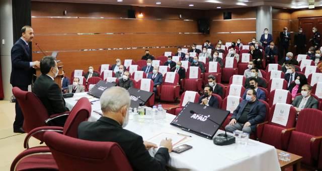 Şanlıurfa İl Afet Risk Azaltma Planı Toplantısı Gerçekleştirildi