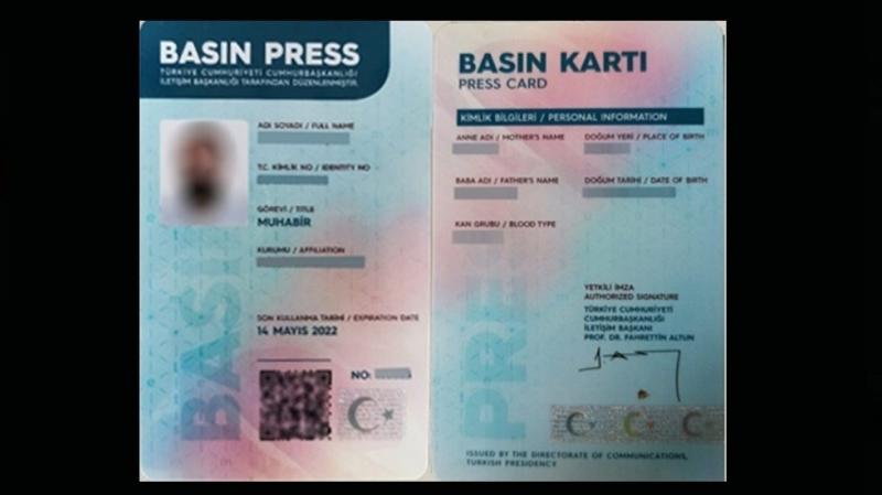 Şanlıurfa'da 69 Gazeteci'nin Sarı Basın Kartı var
