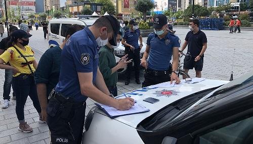 Şanlıurfa'da maske takmama cezası