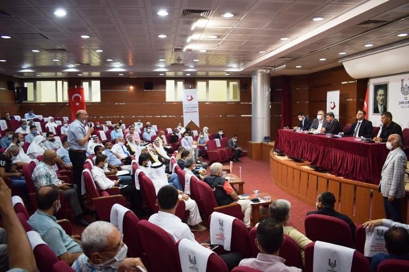 Şanlıurfa'da Yaşayan Suriyeliler ve Yabancılarla Uyum Toplantısı