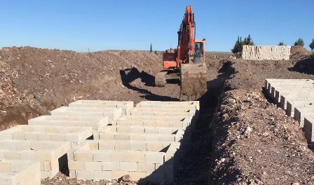 Şanlıurfa'da yeni mezarlıklar yapılıyor