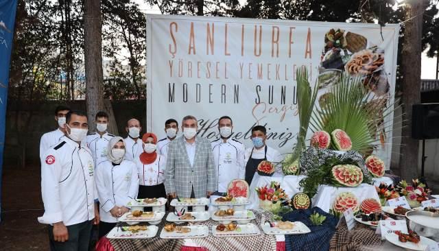 Şanlıurfa'da Yöresel Yemeklere Modern Sunum