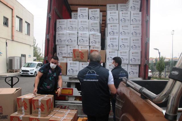 Şanlıurfa'dan İzmir'e yardım eli