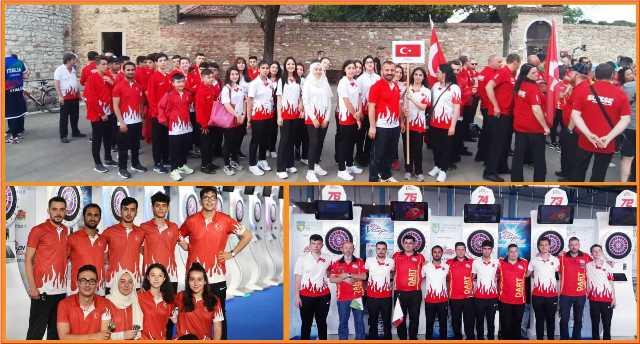 Şanlıurfa'nın İlk Dart Milli Sporcusu Avrupa Şampiyonasında