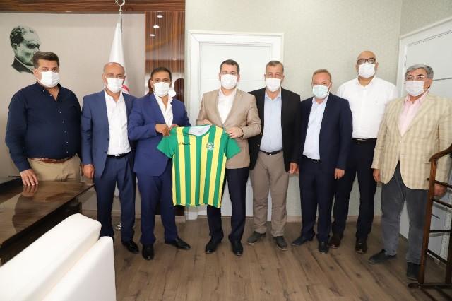 Şanlıurfaspor Yönetiminden Başkan Baydilli'ye Teşekkür Ziyareti