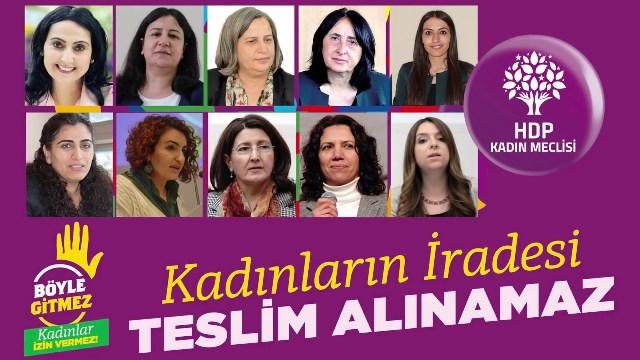 Şiddet karşısında sessiz kalmayan her kadının yanındayız!