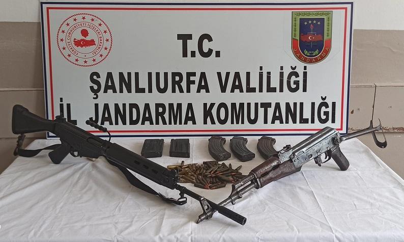 Silah ve mühimmat yakalandı