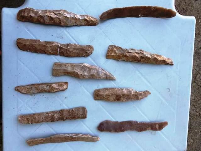 Siverek'te Tunç Çağına ait ilkel alet bulundu