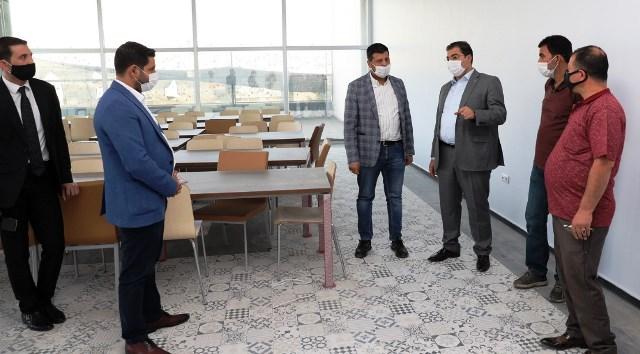 Süleymaniye'de spor salonu açılışı kısa zamanda yapılacak