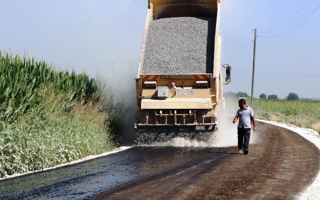 Suruç kırsalında asfaltsız yol kalmayacak