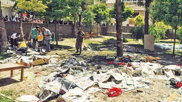 Suruç'taki patlamanın yıl dönümünde yoğun güvenlik önlemi!