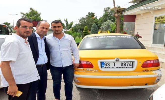 Taksici 'den Örnek Davranış