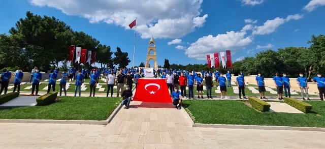 TEM Şube Müdürlüğü 23 öğrenciyi Çanakkale'ye gönderdi