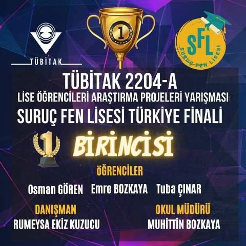 Şanlıurfalı öğrenciler Türkiye şampiyonu oldu