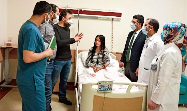 Üniversite'den Başarılı Bir Ameliyat Daha