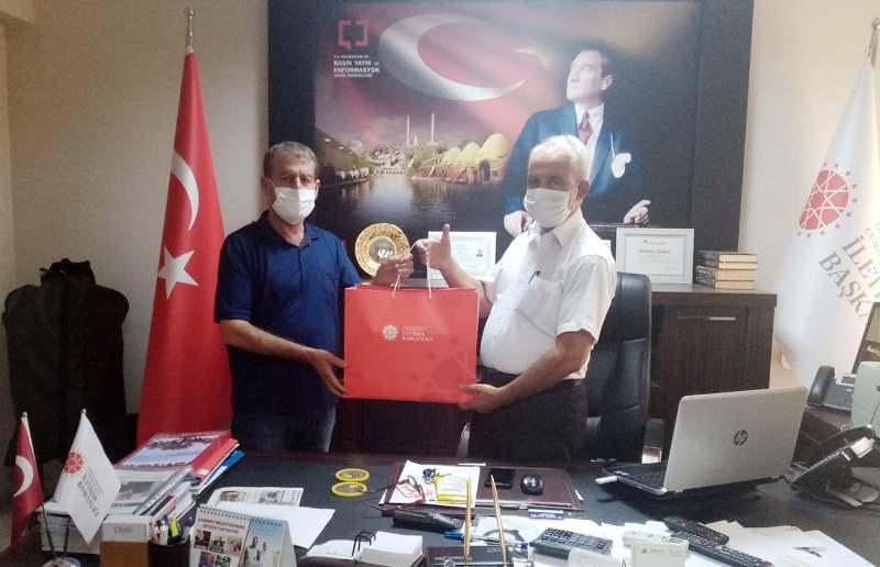 Urfa Çağdaş'tan İletişim Müdürlüğü'ne ziyaret