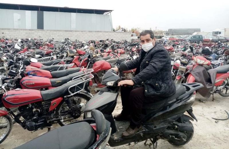 Urfanatik Gazetesi Çalınan Motosikletini teslim aldı