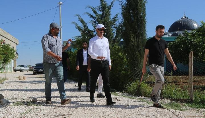 Vatandaşlar, Eyyübiye belediyesinin çalışmalarından memnun.