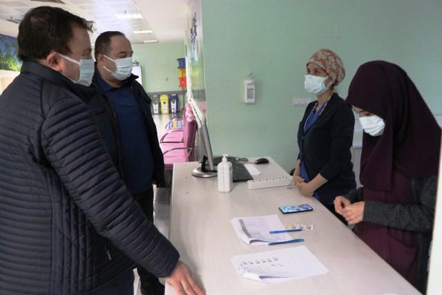 Viranşehir  Belediye Başkanı  Salih Ekinci Covid19 aşısını yaptırdı