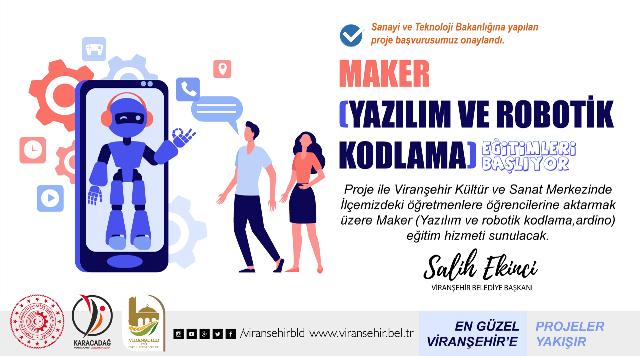 Viranşehir Belediyesi Yazılım Ve Robotik Kodlama Eğitimleri Düzenleyecek