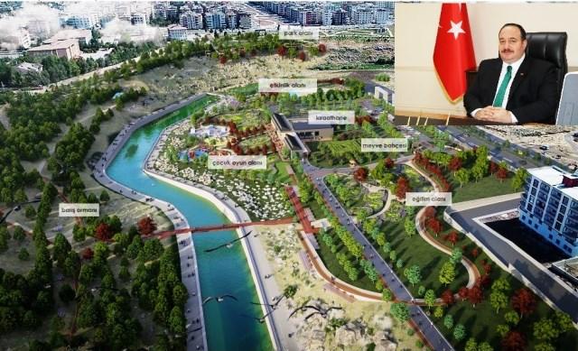Viranşehir'de Millet Bahçesi yapılıyor