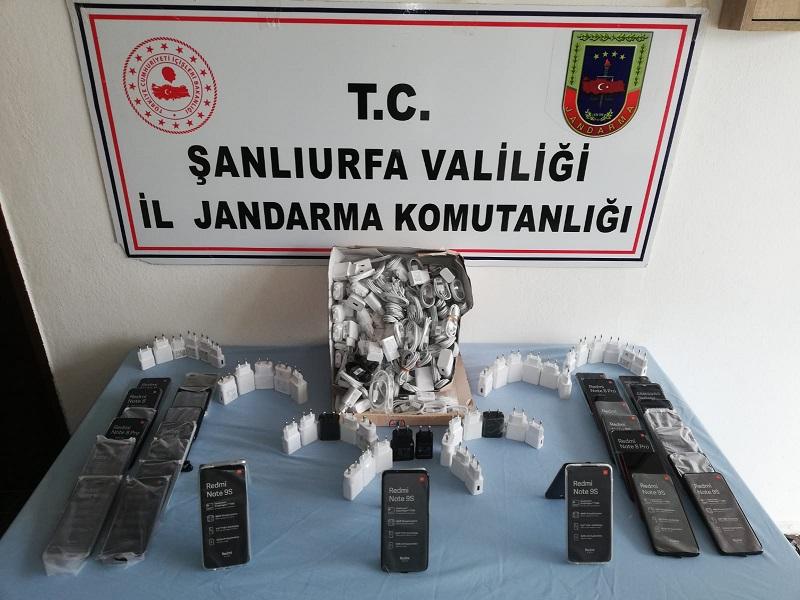 Viranşehirde silah ve uyuşturucu madde yakalandı