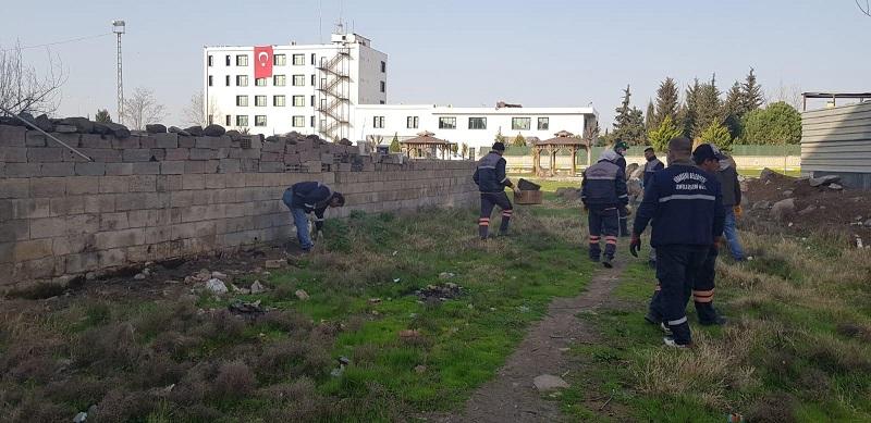 Viranşehir'de temizlik seferberliği başladı