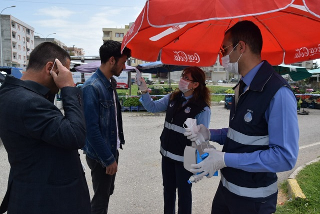 Viranşehir'de Tüm Kurumlar Seferber Oldu