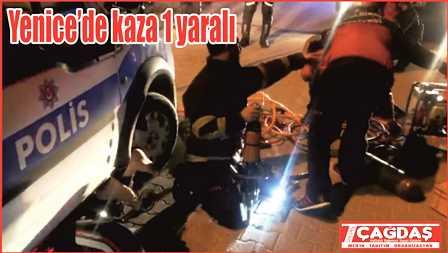Yenice'de kaza 1 yaralı