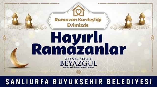 """Başkan Beyazgül:"""" Ramazan ayımız mübarek olsun"""""""