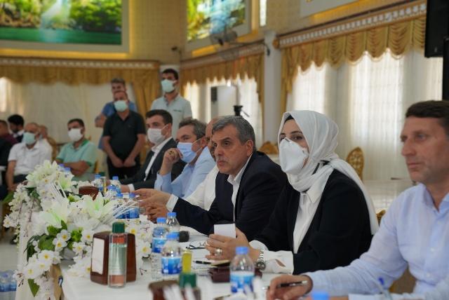 Başkan Beyazgül Siverek'te temaslarda bulundu
