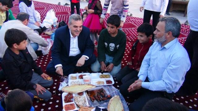 Başkan Beyazgül'den Halil İbrahim sofrasına davet