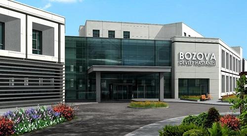 Bozova Devlet Hastanesi yarın hasta kabulüne başlayacak