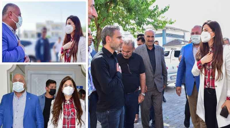 Ceylanpınar Belediye Başkanı Soylu, Sakar'ı Ağırladı