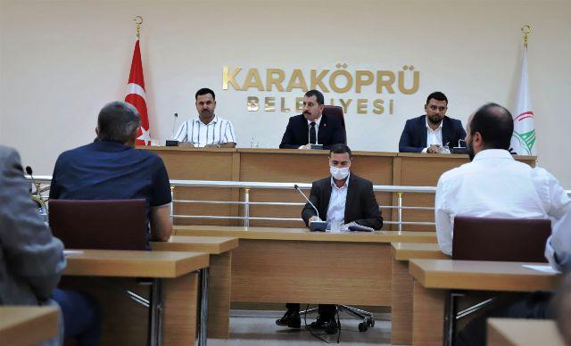 Karaköprü Belediye Meclisinde anlamlı karar