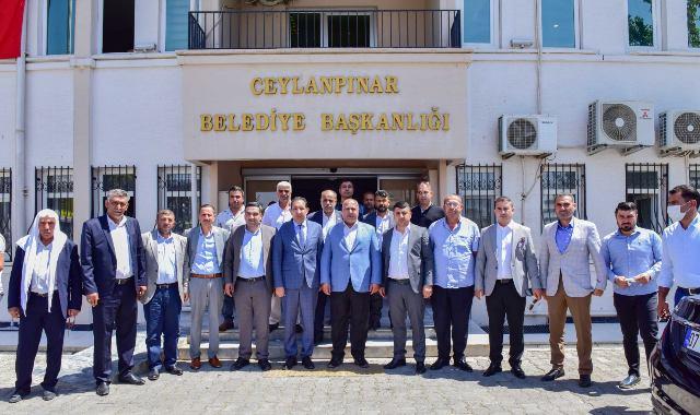 MHP İl ve ilçe Yönetiminden Başkan Soylu'ya ziyaret