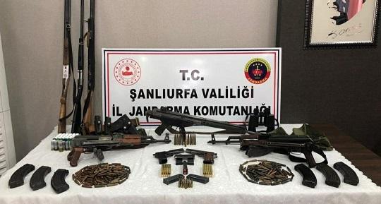 Viranşehir'de kaçak silah operasyonu