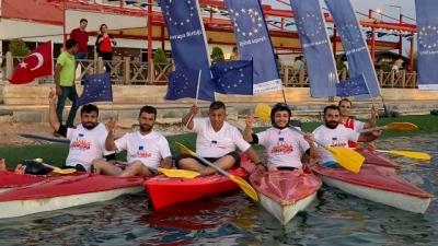 2.Avrupa spor festivali'nde kano yarışı gerçekleştirildi