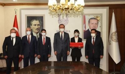 81 Genç 81 Bayrak Devir Teslimi Şanlıurfa'da Gerçekleşti