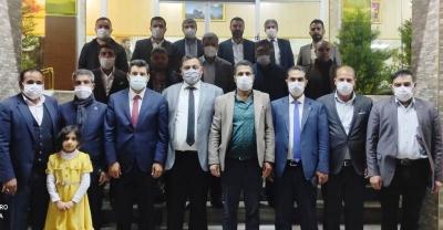 AK Parti Haliliye İlçe Teşkilatı Muhtarlarla buluştu
