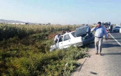 Akçakale Yolunda Kaza 3 yaralı