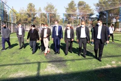 Akçakale'de spora yatırım devam ediyor